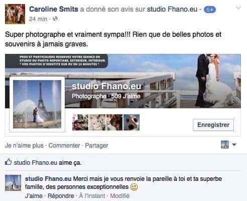 Studio Photographe Hainaut Belgique France 7700 be _avis clients 016