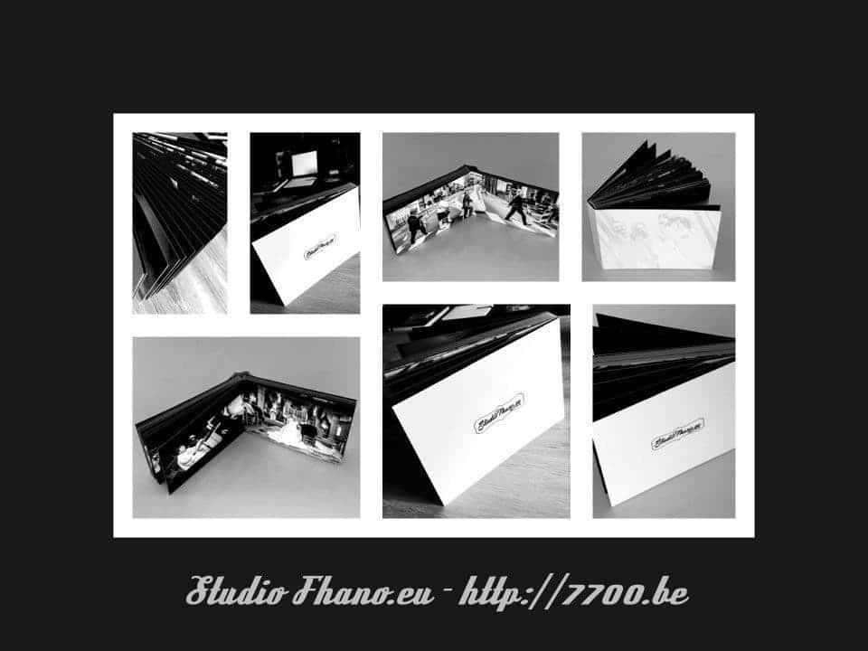 Magnifique album essai noir et Blanc en 15x20Cm 50 pages Studio Fhano.eu - http://7700.be
