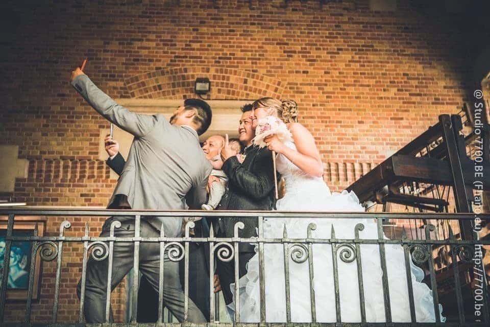 Photos du mariage de Hélène et Mathieu réalisées par le STUDIO 7700.BE